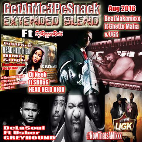 GetAtMe3PcSnack Extended Blend ft De la Soul, Usher, Dj Neek, SbDaG, BeatMakanixxx, Ghetto Mafia & UGK .. #NowThatsAMixxx | GetAtMe | Scoop.it