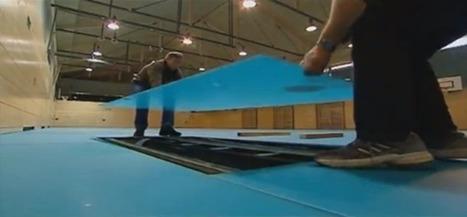 LED Gym Floor Changes Activities in Seconds | Led Screen & lighting | Scoop.it