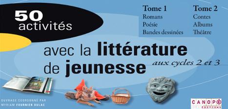 50 activités avec la littérature de jeunesse aux cycles 2 & 3 #Romans #Poésie #BD #Contes #Albums #Théâtre | -thécaires | Espace jeunesse | Scoop.it