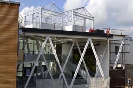 La première ferme urbaine luxembourgeoise nourrit le bâtiment | Agriculture urbaine et rooftop | Scoop.it
