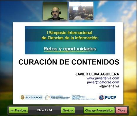 I Simposio Internacional de Ciencias de la Información: retos y oportunidades | Los Content Curators | Comunicación para la educación | Scoop.it
