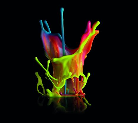dentsu: paint sound sculptures | Making Movies | Scoop.it