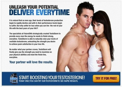 Testostorm Review – Get Risk FREE Trial HERE!!! | WHO SUGGEST ME ABOUT TESTOSTROM | Scoop.it