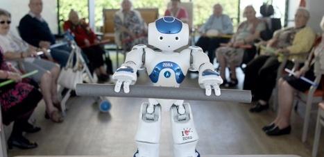 Le robot Nao, coach pour seniors dans une maison de retraite | Robotique, intéractions, mouvement | Scoop.it