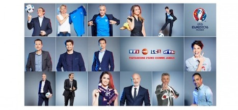 Euro 2016 : TF1 mobilise son antenne | News Express | Scoop.it
