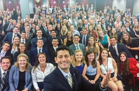 Paul Ryan's photo with group of interns stirs controversy | Political Agendas | Scoop.it