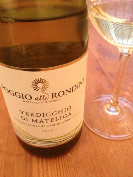 Poggio alle Rondini Verdicchio di Matelica 2012 | Wine, history and culture... | Scoop.it