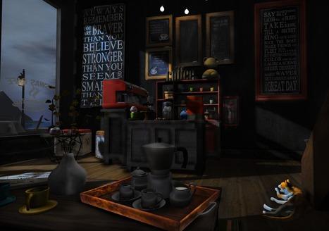 Coffee is our friend :)   SL Homes & Gardens Scoop   Scoop.it