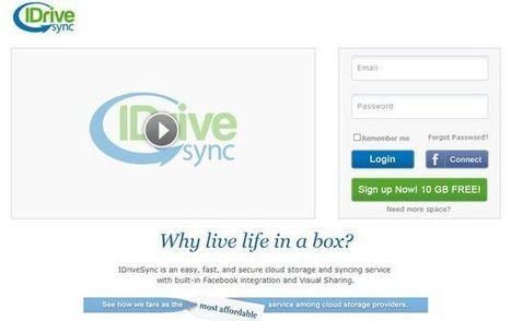 IdriveSync, otra opción para almacenamiento en la nube que nos regala 10 Gb | #REDXXI | Scoop.it