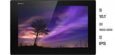 Xperia™ Z2 Tablet by Sony | Actualité des Tablettes Android™ | Scoop.it