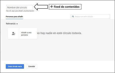 ¿Cómo transformar tus círculos en un Feed de contenidos para Google+?   Uso inteligente de las herramientas TIC   Scoop.it