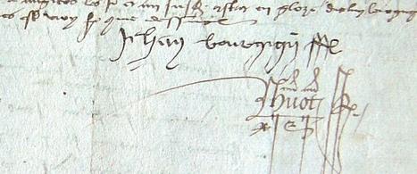MODES de VIE aux 16e, 17e siècles » Archive du blog » Jean Bourguignon baille à ferme une closerie, Angers 1520   blog de Jobris   Scoop.it