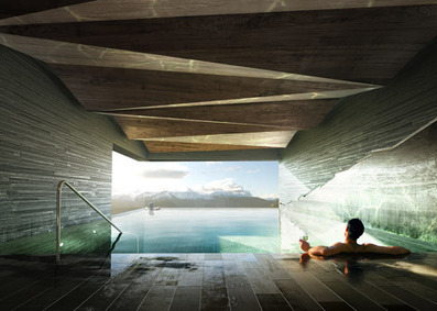 ARCKiT >§< Mountain Lodge on Sognefjorden by Haptic - slideshow | ART ~ Design ~ Cooltour | Scoop.it