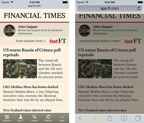 iOS 7.1: new minimal UI mode and old bugs on Safari | Breaking the Mobile Web | CSS Matters | Scoop.it