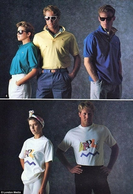 Apple's Clothing Line From The '80s - DesignTAXI.com | edtechBK | Scoop.it