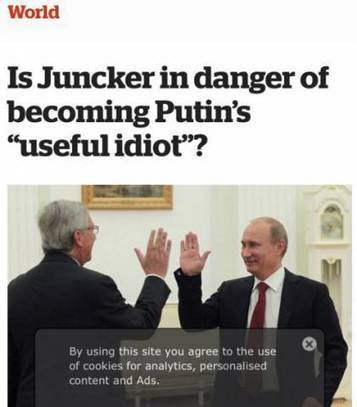 "Presenting ""Putin's Useful Idiot"": Anyone Who Disagrees With The Establishment 