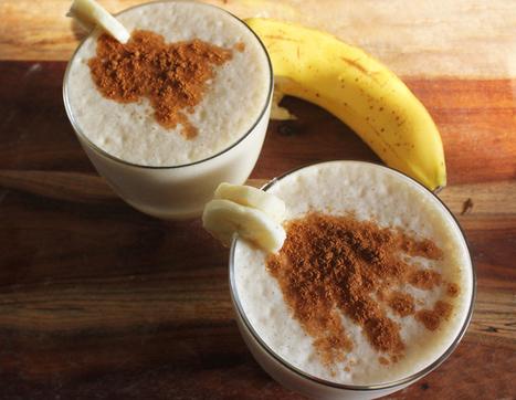 Banana Cinnamon Smoothie | drinks | Scoop.it