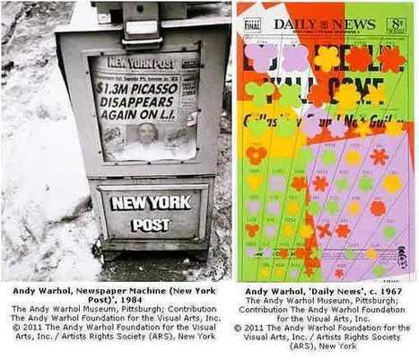'Warhol: se l'ossessione per i giornali diventa Pop Art | Capire l'arte | Scoop.it
