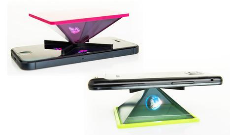 Holho : un générateur d'hologrammes pour smartphone - Frandroid | communication par l'objet | Scoop.it