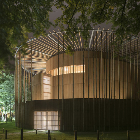 Shakespearean-style wood theatre by Studio Andrew Todd opens in France | The Architecture of the City | Scoop.it