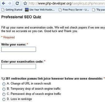 Design an Online Quiz Using Google Docs - SEO Chat | Dictionaries, Technology and Stuff | Scoop.it