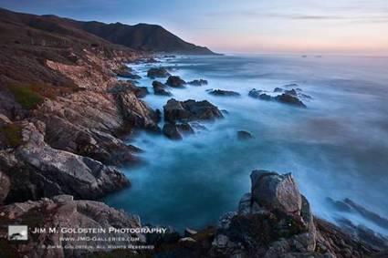 Big Sur Crashing Surf | Jim M. Goldstein pictures | Looks -Pictures, Images, Visual Languages | Scoop.it