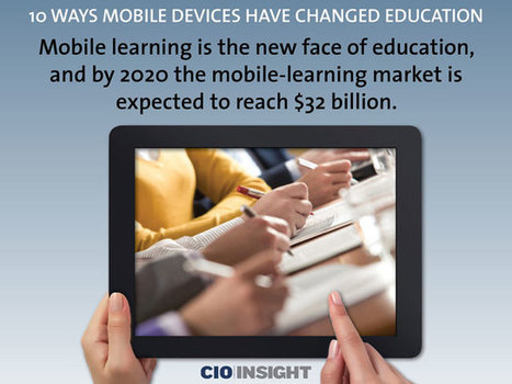 10 Ways Mobile Devices Have Changed Education | #LearningCommons | Scoop.it
