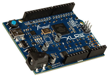 Alorium XLR8 Arduino Compatible Altera MAX 10 FPGA Board Sells for $75 | Embedded Systems News | Scoop.it