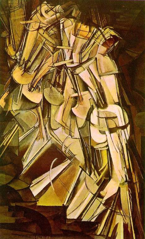 Nude Descending a Staircase (Marcel Duchamp, 1912) | Place Holder Title | Scoop.it