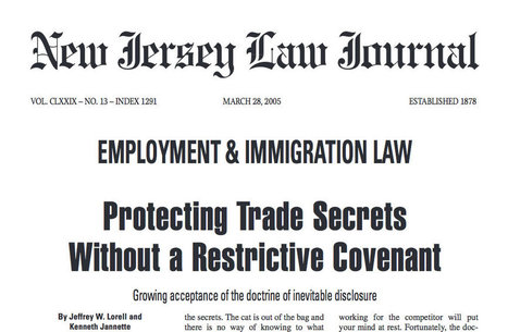 Protecting Trade Secrets Without a Restrictive Covenant | Legal Articles | Scoop.it