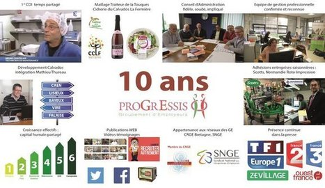 "10 images: 10 ans du groupement d'employeurs Progressis | ""Groupement Employeurs"" 