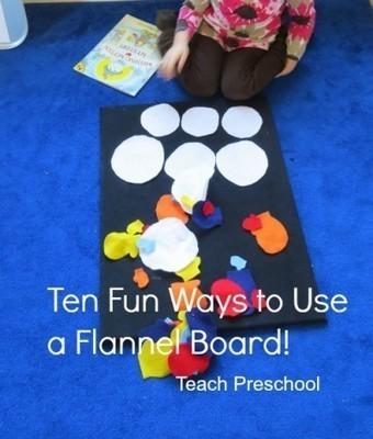 Ten fun ways to use a flannel board | Teach Preschool | Scoop.it