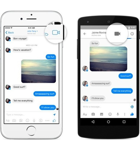 Facebook Adds Video Calling to Messenger | MarketingHits | Scoop.it