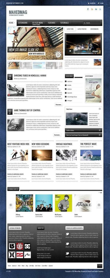 Maxed Mag WordPress Magazine Style Theme [Mobile Ready] | dev2013 | Scoop.it