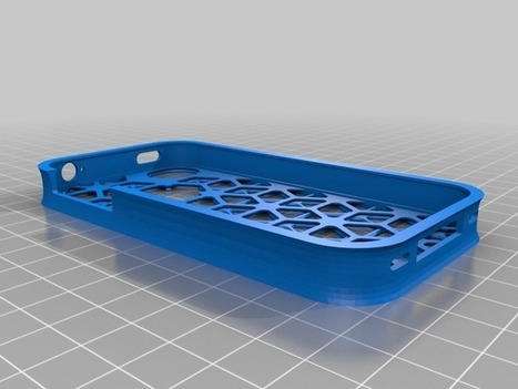 iPhone 4/4S cell design cover by alan89 - Thingiverse | Magik Applez | Scoop.it