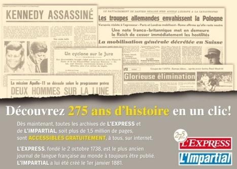 Arcinfo.ch présente: 275 ans d'archives de nos journaux en un clic! | Nos Racines | Scoop.it