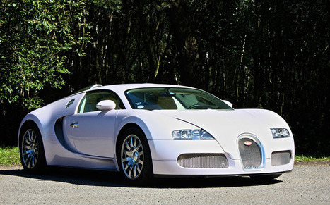 News: One pink Bugatti Veyron on sale for £895,000   Driving.co.uk   HPI Check   Scoop.it