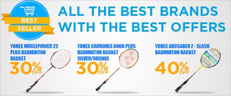 Badminton Rackets, Badminton Bats, Badminton Racquets Online - Sports365 | Yonex Rackets | Scoop.it