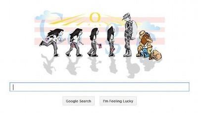 Sabrina Brady Wins 'Doodle 4 Google' Contest with Heartfelt Reunion Drawing - ABC News (blog) | Art* | Scoop.it