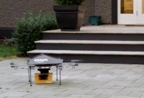 Amazon wil pakketjes bezorgen met drones  - De Standaard | ICT Showcases | Scoop.it