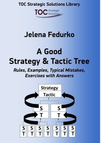A Good Strategy and Tactic Tree – a new book by Jelena Fedurko | Theory of Constraints (Engpasstheorie) | Scoop.it