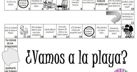 ¡Aquí Hablamos!: JUEGO: ¿Vamos a la playa? | Español para los más pequeños | Scoop.it