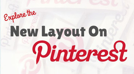 Pinterest implements new layout | Pinterest | Scoop.it