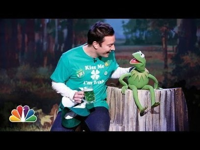 Kermit the Frog and Jimmy Fallon: It's Not Easy Being Green   network marketing   Scoop.it