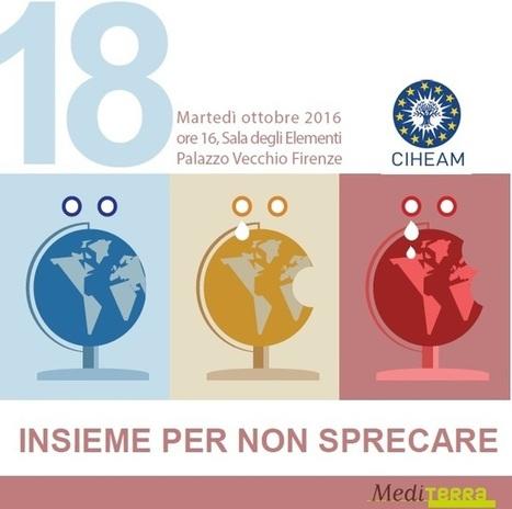 INSIEME PER NON SPRECARE - Sala degli Elementi, Palazzo Vecchio Firenze, 18 ottobre 2016 ore 16 - Istituto agronomico mediterraneo Bari | MAIB FTN Community Press Review 2011-2017 | Scoop.it
