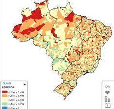 El Atlas del Desarrollo Humano en Brasil es premiado | MundoGEO | Cartografía | Scoop.it