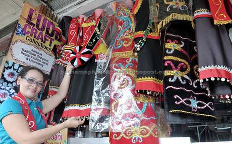 Kenyah seamstress finds calling in Bidayuh costumes | Costumes | Scoop.it