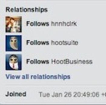 New User Requested Feature: Relationships | Business in a Social Media World | Scoop.it