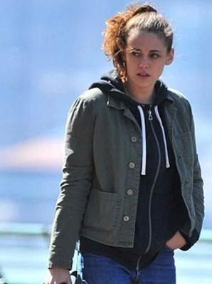 Kristen Stewart Still Alice Film Jacket | Lydia Howland Green Jacket | Women's Jackets | Scoop.it