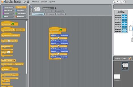 Programando Arduino con S4A | Beagle en la enseñanza | Scoop.it
